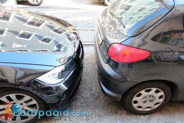где припарковать авто в Лиссабоне