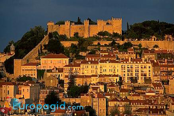 замок Святого Георгия в Лиссабоне время работы