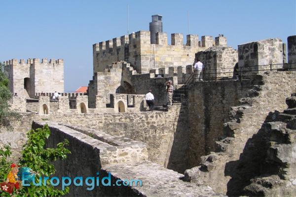замок Святого Георгия в Лиссабоне как добраться