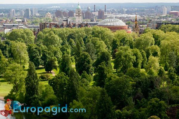 как добраться в Гайд Парк Лондона