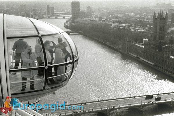 как добраться на колесо обозрения в Лондоне