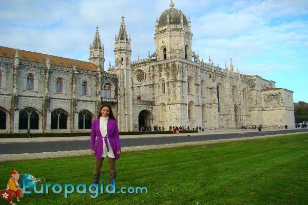 монастырь Жеронимуш в Лиссабоне для вас