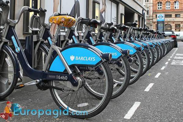 прокат велосипедов в Лондоне для вас