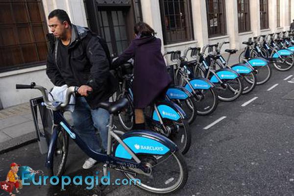 прокат велосипедов в Лондоне для всех