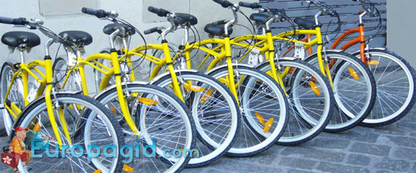 стоимость проката велосипедов в Риме