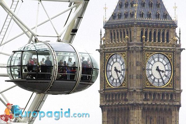 цена билетов на колесо обозрения в Лондоне