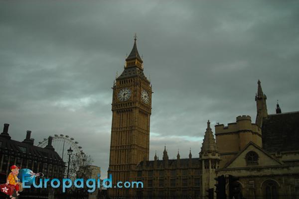 часы Биг Бен в Лондоне