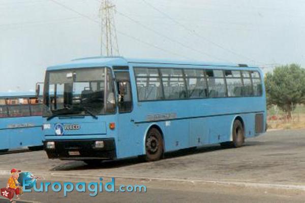 Автобусы в Риме для вас