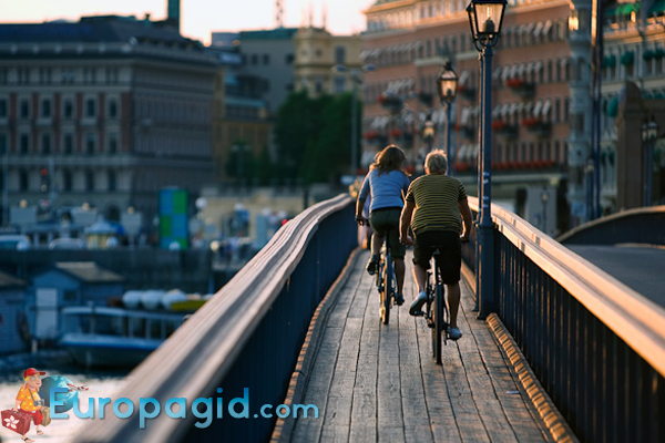 Велосипеды в Стокгольме для вас