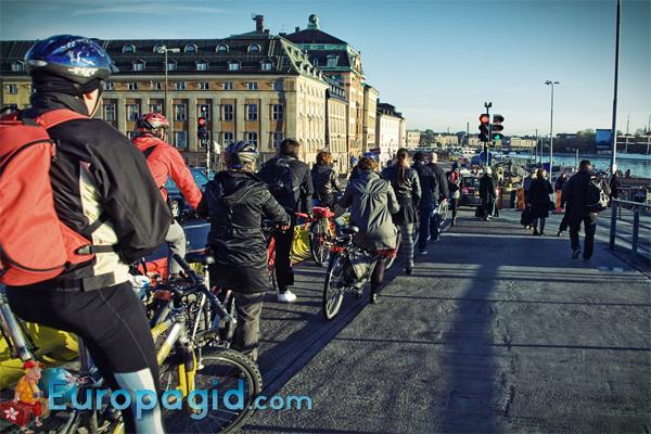 Велосипеды в Стокгольме для всех