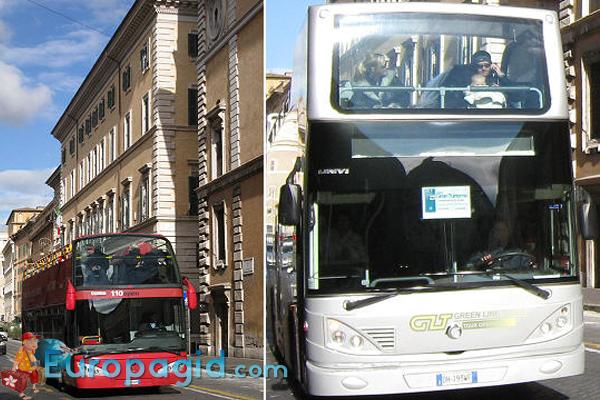 Городские автобусы в Риме