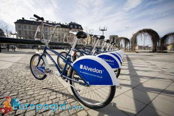 Как взять в аренду велосипед в Стокгольме