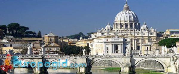Как добраться на площадь Святого Петра в Ватикане