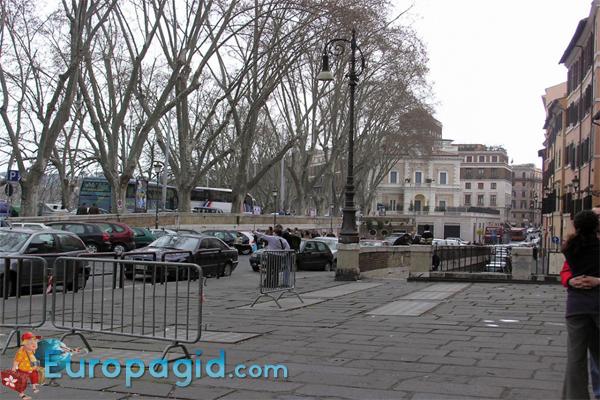 Правила парковки в Риме