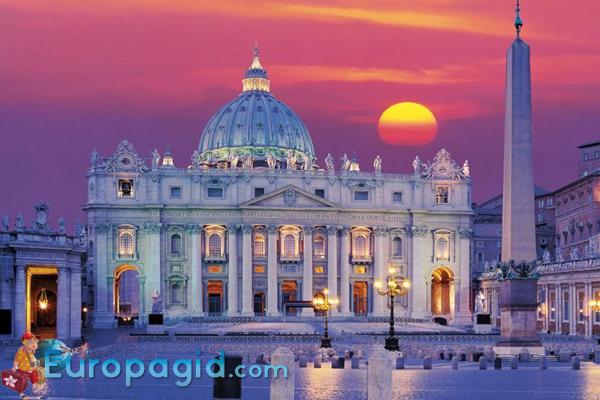 Собор святого Петра в Ватикане для вас