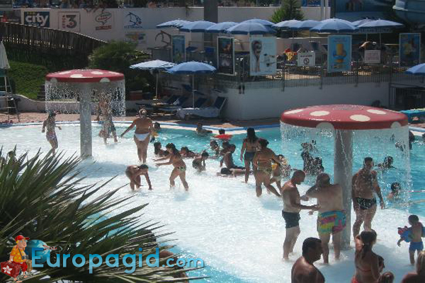 аквапарк в Риме