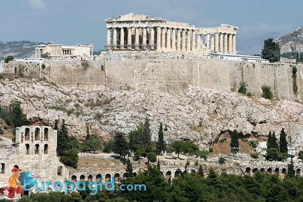 Афинский Акрополь для вас