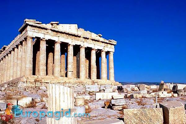 Афинский Акрополь как добраться