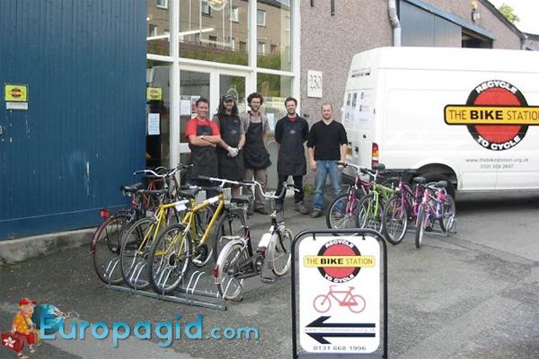 Велосипеды в Эдинбурге для всех