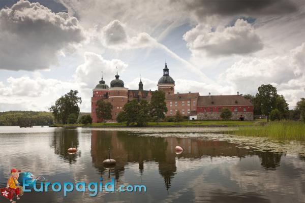 Замок Грипсхольм в Стокгольме