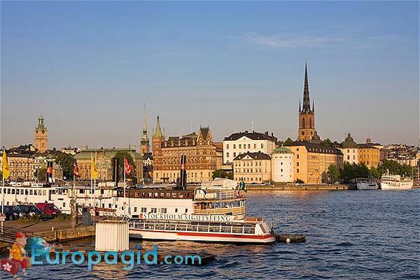 Район Седермальм в Стокгольме