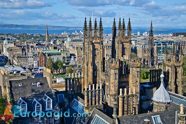 Район новый город в Эдинбурге как добраться