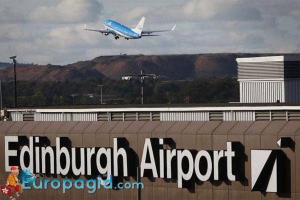 Терминалы аэропорта в Эдинбурге