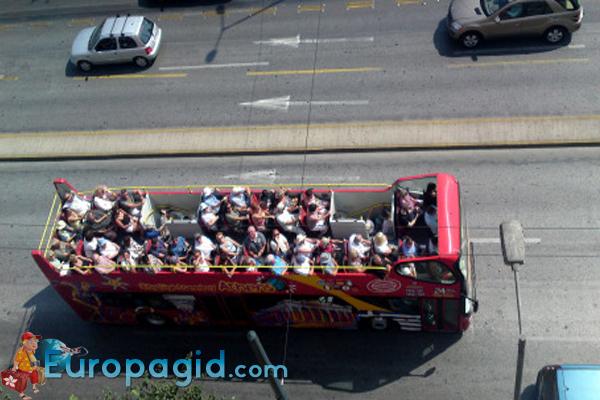 Туристические автобусы в Афинах