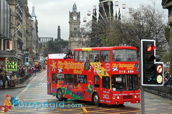 Туристические автобусы в Эдинбурге для вас