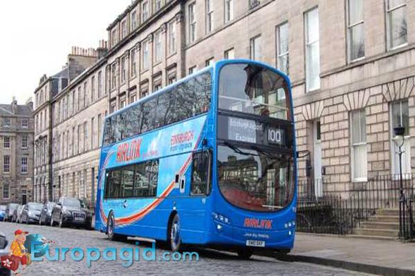 Автобусы в Эдинбурге для вас