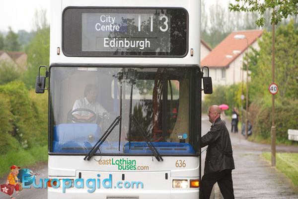 Городские автобусы в Эдинбурге для вас