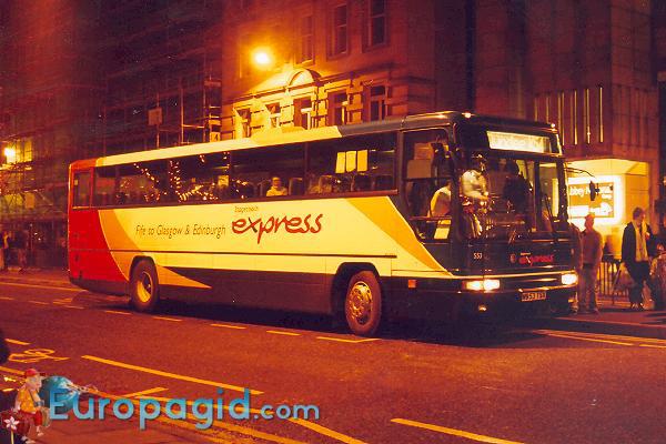 Городские автобусы в Эдинбурге для всех