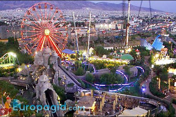 Парк аттракционов Allou Fun Park для всех