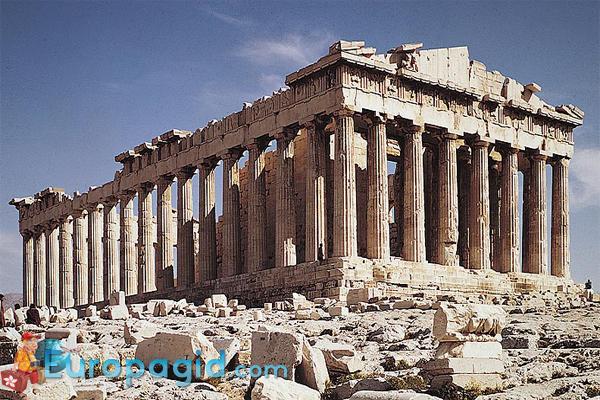 Парфенон в Афинах для вас
