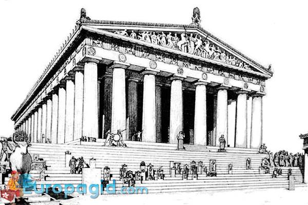 Парфенон в Афинах для всех