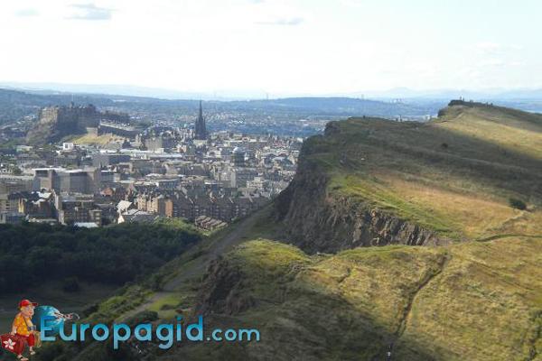 Смотровая площадка «Трон Артура»  в Эдинбурге для вас