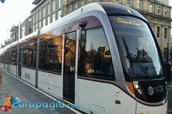 Трамваи в Эдинбурге для вас
