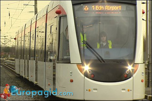 Трамваи в Эдинбурге