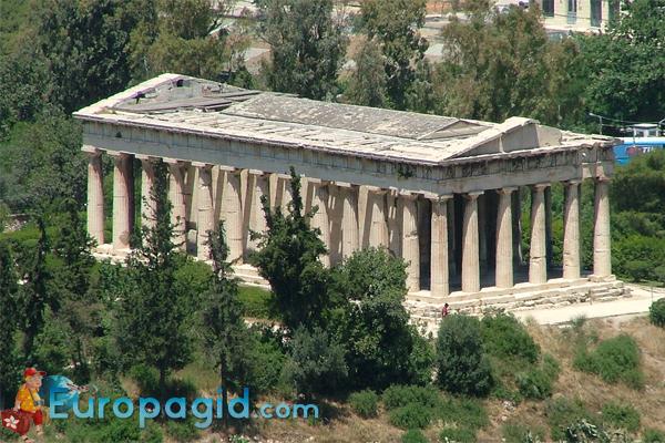 Храм Гефеста в Афинах для вас