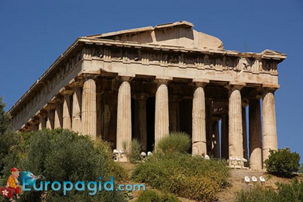 Храм Гефеста в Афинах для всех