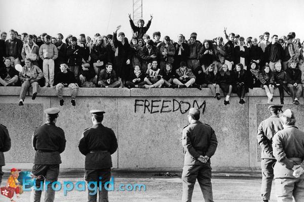 Берлинская стена былое