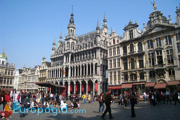Брюссельская ратуша для вас