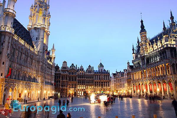 Брюссельская ратуша как добраться
