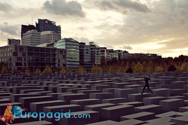 Мемориал памяти убитых евреев Европы в Берлине, как добраться