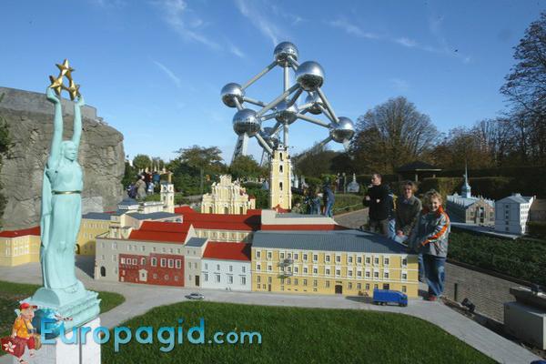 Парк Мини-Европа в Брюсселе для вас
