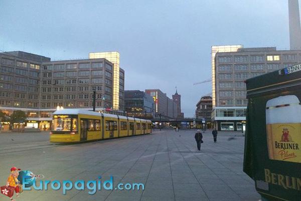 Площадь Александерплац в Берлине для вас
