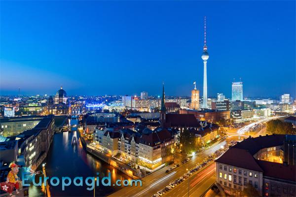 Площадь Александерплац в Берлине для всех