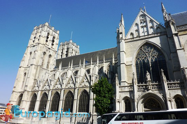 Собор Святого Михаила в Брюсселе