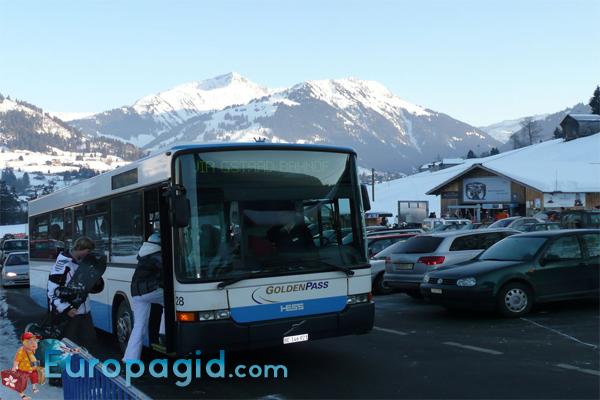 Автобусы в Цюрихе для вас