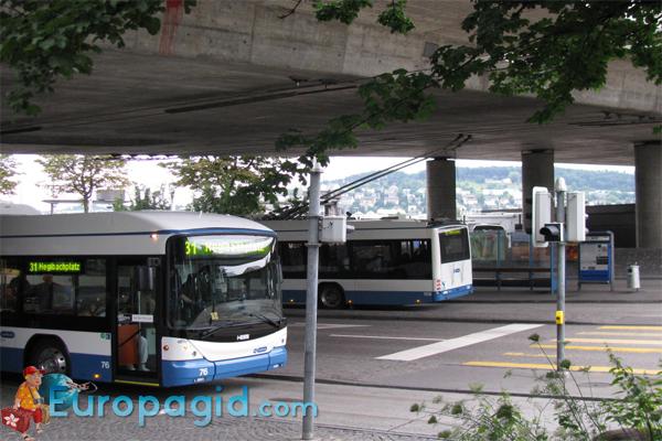 Автобусы в Цюрихе для всех